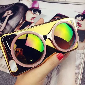 Sunglass iPhone 6S 5S 6 Plus creative case Best Gift
