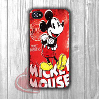 Mickey Minnie Retro Poster - dizi for iPhone 4/4S/5/5S/5C/6/ 6+,samsung S3/S4/S5,samsung note 3/4