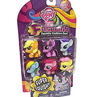 My Little Pony Friendship Is Magic Fash'ems Series 2 Value Pack Toy Figure Set of 6
