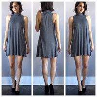 An Emily Dress in Grey
