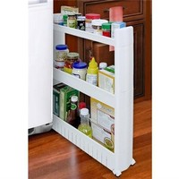 The Sliding Dorm Storage Tower Organizer College Accessories Dorm Shopping