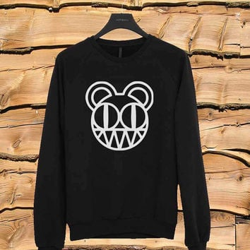 Radiohead sweater Sweatshirt Crewneck Men or Women Unisex Size