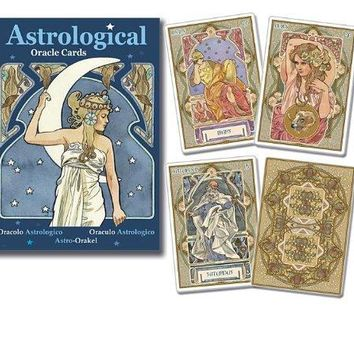 Astrological Oracle Cards BOX CRDS/P