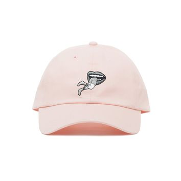 Embroidered Man Eater Dad Hat - Baseball Cap / Baseball Hat