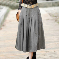 Brocade skirt for fall and wintter