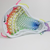 Limited Edition LU Prism Break Wax Mesh Lacrosse Head | Lacrosse Unlimited