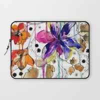 Lost Laptop Sleeve by Holly Sharpe
