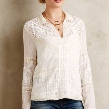 Abbey Lace Blouse by Tiny Ivory