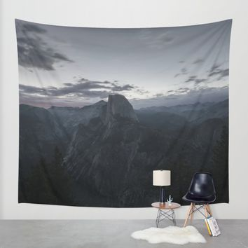 Yosemite Wall Tapestry by Mixed Imagery