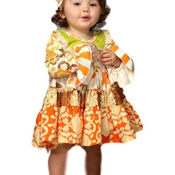 Giggle Moon-Thankful Hearts-Party Dress