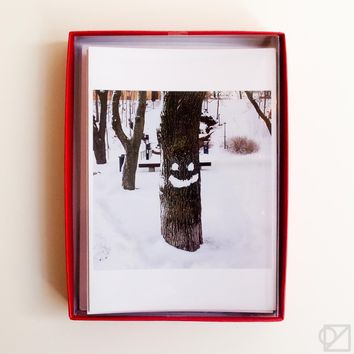 Snow Smile 12 Card Box Set