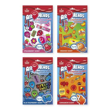 Airheads Licensed Scratch n' Sniff Stickers - CASE OF 48