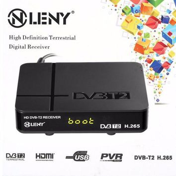 ac NOOW2 ONLENY HD DVB-T2 Receiver HEVC H.265 Kombi Receiver HDMI 1080P TV Box VGA AV Dolby MM Tuner Receiver 2017 New Arrival