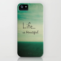 Life is Beautiful iPhone Case by Joy StClaire | Society6