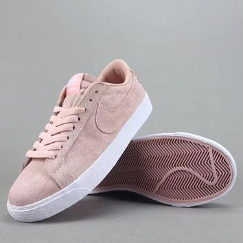 Nike Sb Blazer Zoom Low Women Men Fashion Casual Low-Top Old Skool Shoes-2