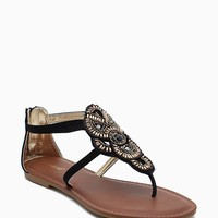 Warner 66 Boho Beaded Gladiator