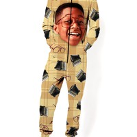 Old School Steve Urkel Jumpsuit