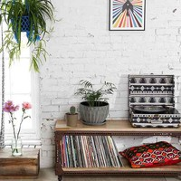 4040 Locust Industrial Media Console- Brown One