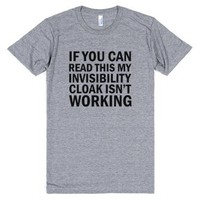 If you can read this tee t shirt-Unisex Athletic Grey T-Shirt