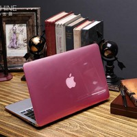 Luxury New Transparent Crystal laptop Case For Macbook air 11 12 13 15 inch Pro Retina Protector cover clear hard plastic bags