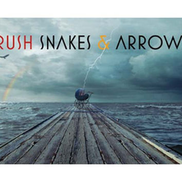 Rush Snakes and Arrows Poster 24x36
