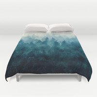 The Heart Of My Heart // So Far From Home Edit Duvet Cover by Tordis Kayma