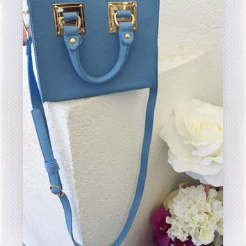 MYRA MINI TOTE- SKY BLUE