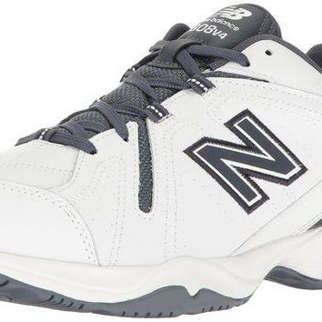 DCCK1IN new balance men s 608v4 comfort pack training cross trainer shoe white outerspace 16 4e us