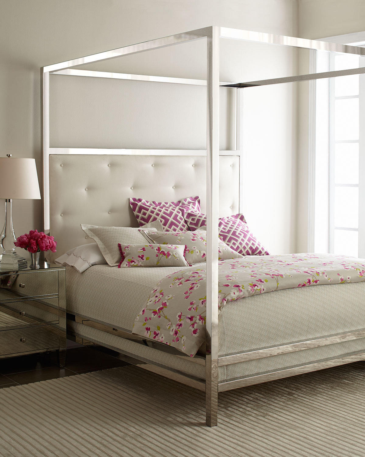 Canopy Bedroom Sets Queen Bedroom Sets With Lights Bedroom Furniture With Price Bedroom Color Ideas For Women: Bernhardt Magdalena Bedroom Furniture From Horchow