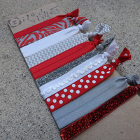 The Ohio State University Game Day Hair Tie Set - 10 Pack