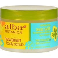 Alba Botanica Hawaiian Sea Salt Body Scrub - 14.5 oz