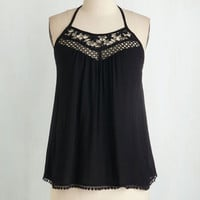 Mid-length Halter Just a Bike Ride Away Top