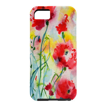 Ginette Fine Art If Poppies Could Only Speak Cell Phone Case