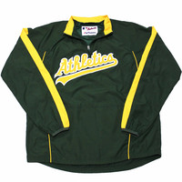 Majestic Oakland Athletics Jacket Mens Size Small