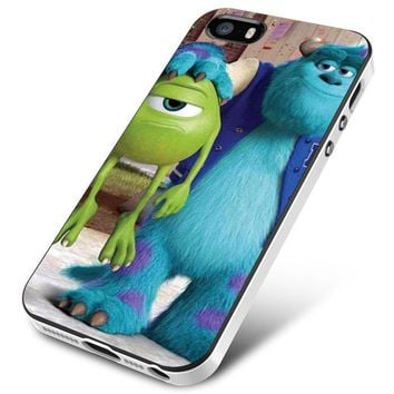 Monsters Inc sulley holding mike iPhone 5 | 5S | 5SE Case Planetscase.com