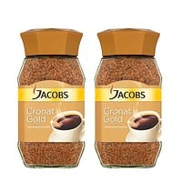 2 Pack Jacobs, 7 oz, Cronat Gold Instant Coffee, (200g)