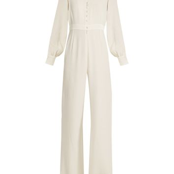 Forte wide-leg crepe-cady jumpsuit | Goat | MATCHESFASHION.COM UK