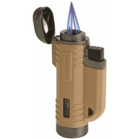 Proforce 21098 Turbo Flame VFlame Windproof Lighter - Desert Tan