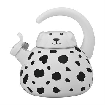 Dalmatian Dog Whistling Tea Kettle