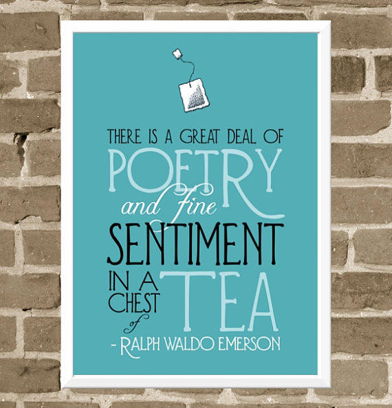 Kitchen Tea Quotes For Cards: Emerson Quote From FlourishCafe On
