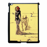 Salvador Dali Woman With Flower Head iPad 4 Case