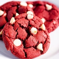 Gourmet Red Velvet Cookies