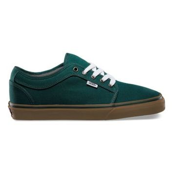Vans Chukka Low (green/gum)