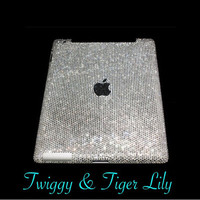 Swarovski Crystal Embellished iPad Case Available for All iPad Models - iPad air and iPad mini Bling Crystal iPad Case
