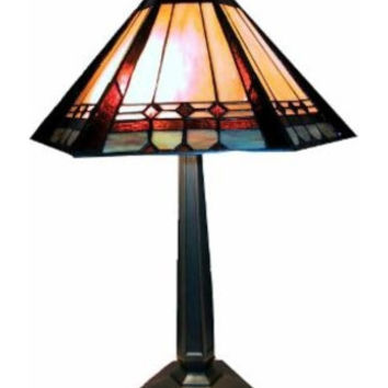 Warehouse of Tiffany: Mission Style Table Lamp