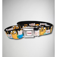 Adventure Time Faces Seatbelt Belt
