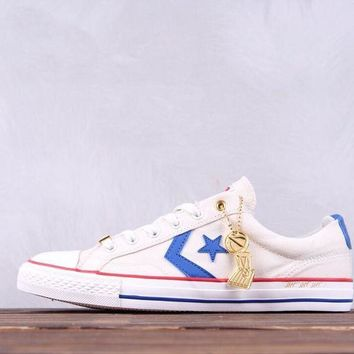 hcxx Converse Player OX Intangibles Champion 1987 Causal Skate Shoes White
