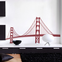 Golden Gate Bridge Wall Decal