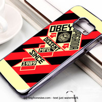 Obey Never Trust Your Own Eyes Samsung Galaxy S6 and S6 Edge Case