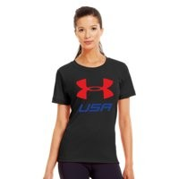 Under Armour Women's USA Pride Graphic T-Shirt